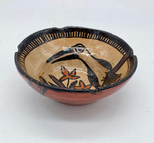 Load image into Gallery viewer, The tucan and the monkey pottery