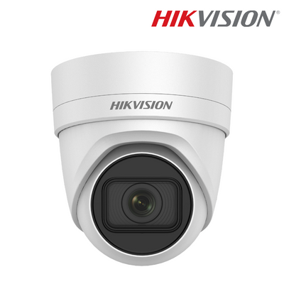 DS-2CD2H45FWD-IZS. HIKVISION 4MP IP Turret Dome Camera, 30m Smart IR Night Vision, 3 Year Warranty. *Special Order Item*