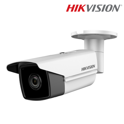 DS-2CD2T45FWD-I5-2.8MM. HIKVISION 4MP IP Bullet Camera, 50m Smart IR Night Vision, 3 Year Warranty. *Special Order Item*