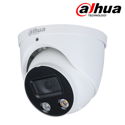 IPC-HDW3549HP-AS-PV. DAHUA 5MP IP Active Deterrent Dome Camera, 30m White Light, 3 Year Warranty. *Special Order Item*