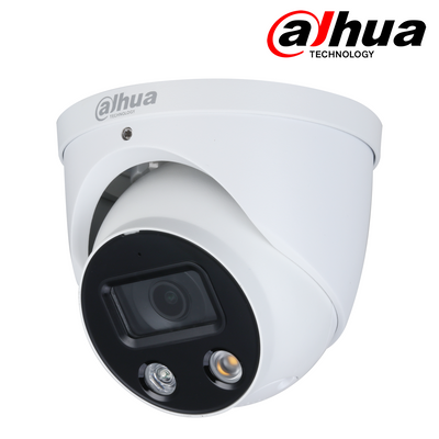 IPC-HDW3849HP-AS-PV. DAHUA 8MP (4K) IP TiOC Full Colour Active Deterrent Dome Camera, 30m White Light, 3 Year Warranty. *Special Order Item*