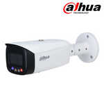 IPC-HFW3849T1P-AS-PV. DAHUA 8MP (4K) IP TiOC Full Colour Active Deterrent Bullet Camera, 30m White Light, 3 Year Warranty. *Special Order Item*