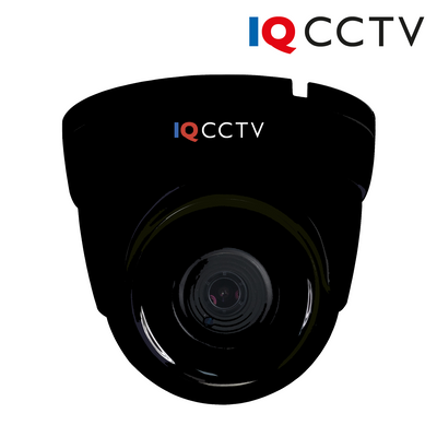 IQC1080V-2. IQCCTV 2MP Analogue AHD/HD-TVI/HD-CVI/CVBS Turret Dome Camera, 30m IR Night Vision, 1 Year Warranty.