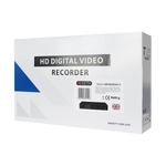 Hybrid 4 Channel HD Analogue + 2 Channels IP DVR up to 5MP<br><small>Model: IQR5000D4H-2</small>