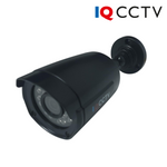 P-IQS720P-S-B-C. IQCCTV Fixed Lens Bullet Camera for Analogue AHD CCTV Systems, Clearance Product, 30 Day Warranty