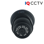 P-IQS720P-S-D-C. IQCCTV Fixed Lens Turret Dome Camera for Analogue AHD CCTV Systems, Clearance Product, 30 Day Warranty