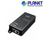 POE-173. PLANET Single Port High Power PoE Injector, Clearance Product, 30 Day Warranty.