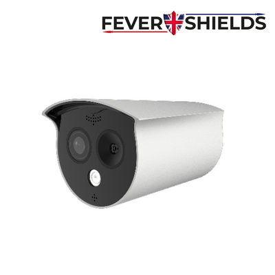 FEVERSHIELDS - 4MP Deep Learning AI IP Thermal Bullet Camera, Starlight, 120dB WDR, 6mm, Microphone, Audio In/Out, Alarm Out, microSD slot, HDMI Out, White - 1 Year Warranty 'Special Order Item'