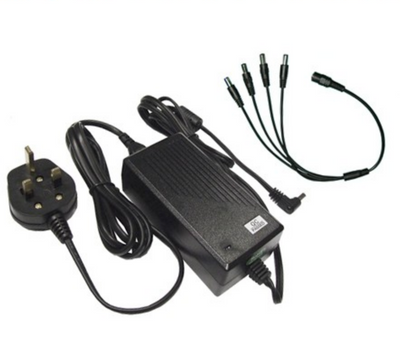 Four way 12v 5000ma DC Power Supply<br><small>Model: TP125A-4P</small>