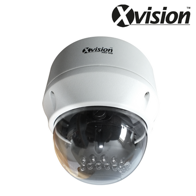 XC1080VAP-B. XVISION 2MP IP Dome Camera, 30m Smart IR Night Vision, Clearance Product, 30 Day Warranty.