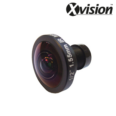 "XL010P-PRO. XVISION 1.55mm Megapixel 1/2"" PCB Lens, Clearance Product, 30 Day Warranty."