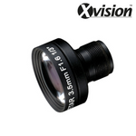 "XL035P-PRO. XVISION 3.5mm Megapixel 1/2"" PCB Lens, Clearance Product, 30 Day Warranty."