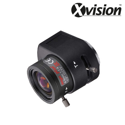 XL0409A-PRO. XVISION Varifocal 4 to 9mm (30 to 64°) HD Megapixel Auto Iris Lens, Clearance Product, 30 Day Warranty.