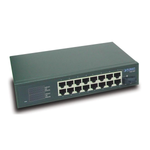 16 Port 10/100Mbps Network Switch<br>XNS16