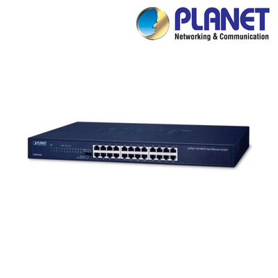 XNS24G. PLANET 24-Port Gigabit Network Switch, Clearance Product, 30 Day Warranty.