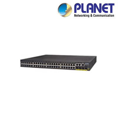 XNS50-M. PLANET 48-Port Gigabit Managed Network Switch, Clearance Product, 30 Day Warranty.