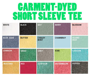 Applique State Comfort Colors Tee