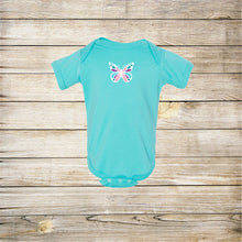 Load image into Gallery viewer, Butterfly Infant Onesie