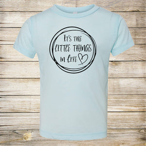It's the Little Things In Life- Mommy and Me Set