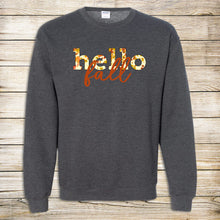 Load image into Gallery viewer, Hello Fall Crewneck