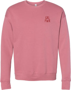 GRL PWR Embroidered Sweatshirt