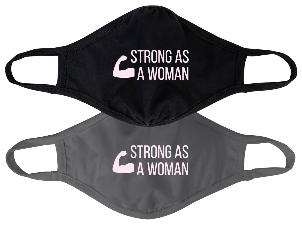 Strong As A Woman Mask