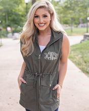 Load image into Gallery viewer, Monogrammed Women's Utility Vest