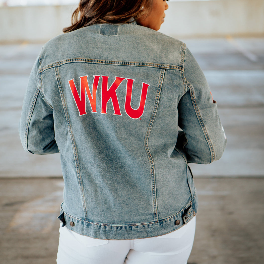 WKU Stars Denim Jacket