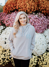 Load image into Gallery viewer, Monogrammed Women's Charles River Laconia Hooded Sweatshirt