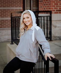 Monogrammed Ladies Stadium Anorak Jacket