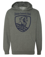 Load image into Gallery viewer, Christian Community School CCS Nickel Pullover Hoodie