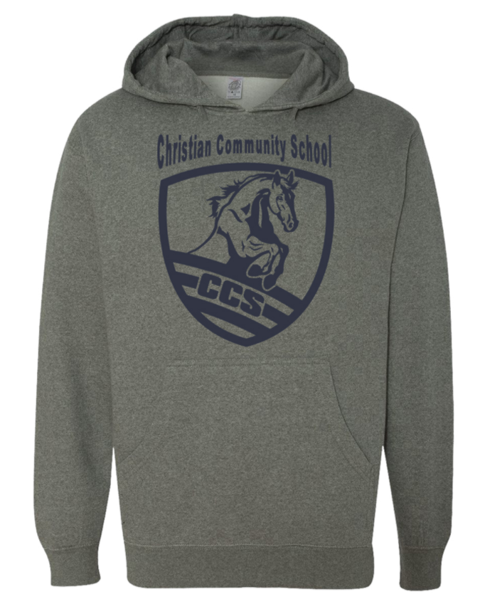 Christian Community School CCS Nickel Pullover Hoodie