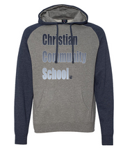 Load image into Gallery viewer, Christian Community School Colorblock Pullover Hoodie