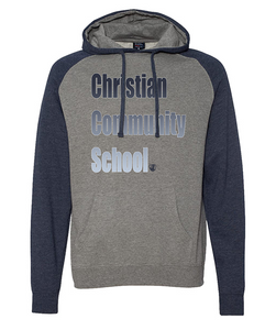 Christian Community School Colorblock Pullover Hoodie