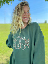 Load image into Gallery viewer, Monogrammed Applique Sweatshirt