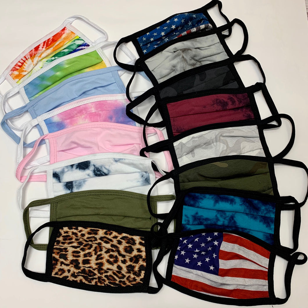 USA Made Comfort Protective Face Masks