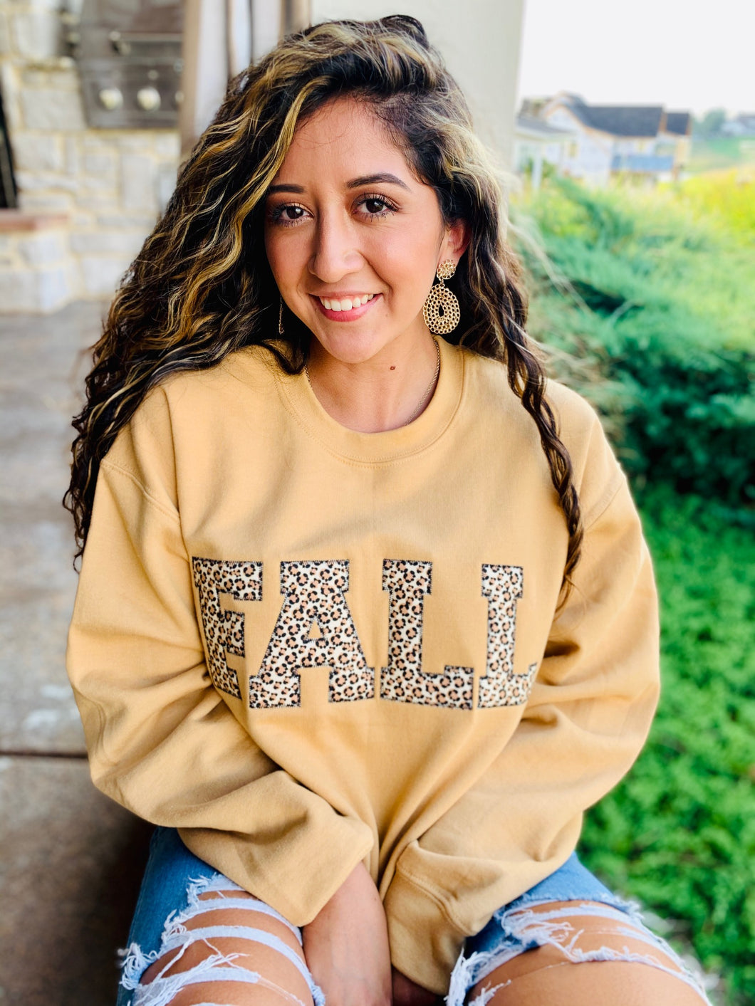Fall Applique Sweatshirt