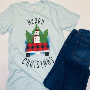 Snowman Adult and Youth Tee