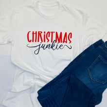 Load image into Gallery viewer, Christmas Junkie Tee