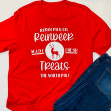 Load image into Gallery viewer, Made Fresh Reindeer Treats Tee