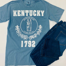 Load image into Gallery viewer, Kentucky 1792 Comfort Colors Tee