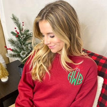 Load image into Gallery viewer, Ornament Monogrammed Sweatshirt