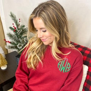 Ornament Monogrammed Sweatshirt