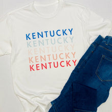Load image into Gallery viewer, Kentucky Repeat Tee
