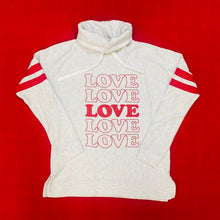 Load image into Gallery viewer, Valentine's Day Ladies Love Cowlneck Sweatshirt
