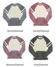 Load image into Gallery viewer, Monogrammed Women's Cozy Contrast Fleece Pullover