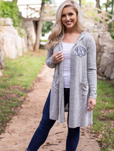 Load image into Gallery viewer, Monogrammed Tunic Length Wrap