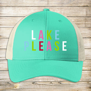 Lake Please Cap