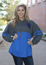 Load image into Gallery viewer, Monogrammed Hooded Pom Pom Jersey
