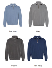 Load image into Gallery viewer, Be Kind Comfort Color Quarter Zip Sweatshirt